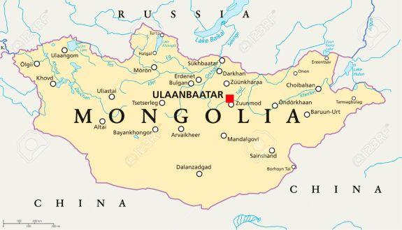 MongoliaPoliticalMap